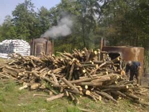 Технологія виробництва деревного вугілля